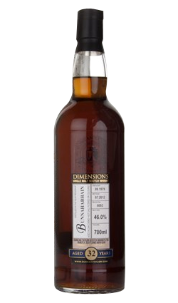 Bunnahabhain 32 Year Old 1979 - Batch 0002 - Dimensions (Duncan Taylor)