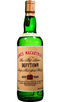 Dufftown 13 Yr Old James Macarthurs 1978