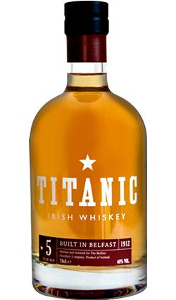 Titanic 5 Year Old Irish Whiskey