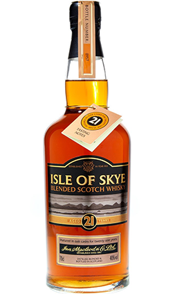 Isle Skye 21 Year Old Ian Macleod