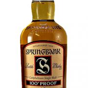 Springbank 100 Proof Malt Whisky