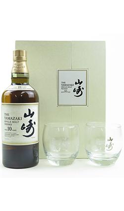 Yamazaki 10 Year Old Gift Set