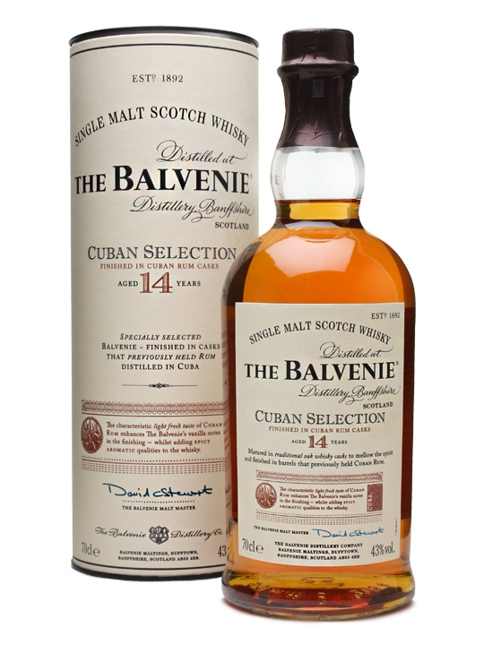 Balvenie 14 Years Old Cuban Selection