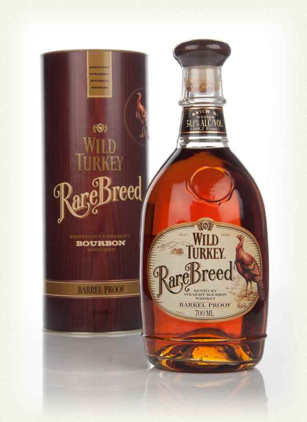 Wild Turkey Rare Breed Bourbon 54 1 Whisky